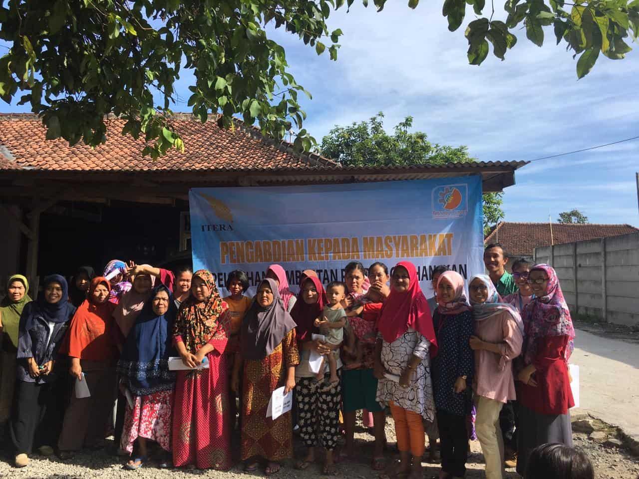 Teknologi Pangan ITERA Laksanakan Pengabdian kepada Masyarakat di Desa Rangai Tri Tunggal