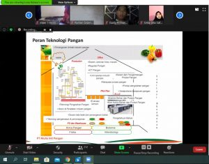 Himatepa Adakan Seminar Online, Beri Tips Menjadi Ahli Teknologi Pangan