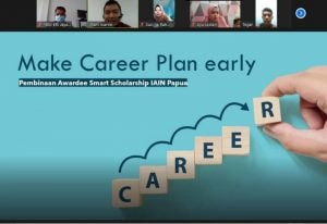Dosen Teknologi Pangan ITERA memberikan pelatihan perencanaan karir untuk mahasiswa IAIN Fattuhul Muluk Jayapura