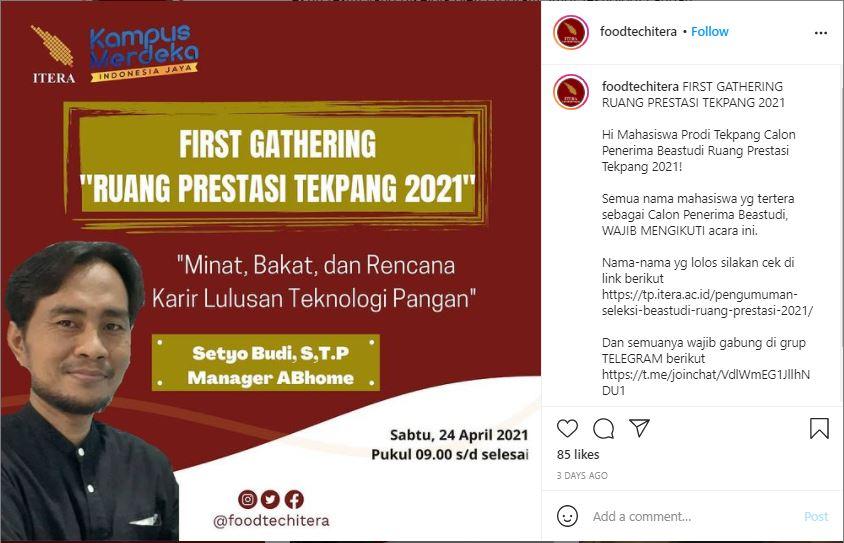 """First Gathering """"Ruang Prestasi Tekpang 2021"""" Disambut Meriah dengan Kedatangan Pembina ABhome, Bogor"""
