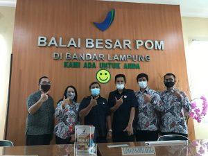 Prodi Teknologi Pangan ITERA Jalin Kerjasama dengan BBPOM Bandar Lampung