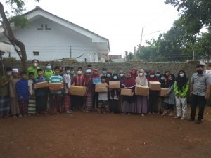 Kolaborasi Dosen, Tenaga Pendidik, dan Mahasiswa dalam Kegiatan Bakti Sosial Menyambut Dies Natalis ke-3 Program Studi Teknologi Pangan Institut Teknologi Sumatera