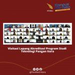 Program Studi Teknologi Pangan Itera melaksanakan visitasi lapang akreditasi dari BAN-PT