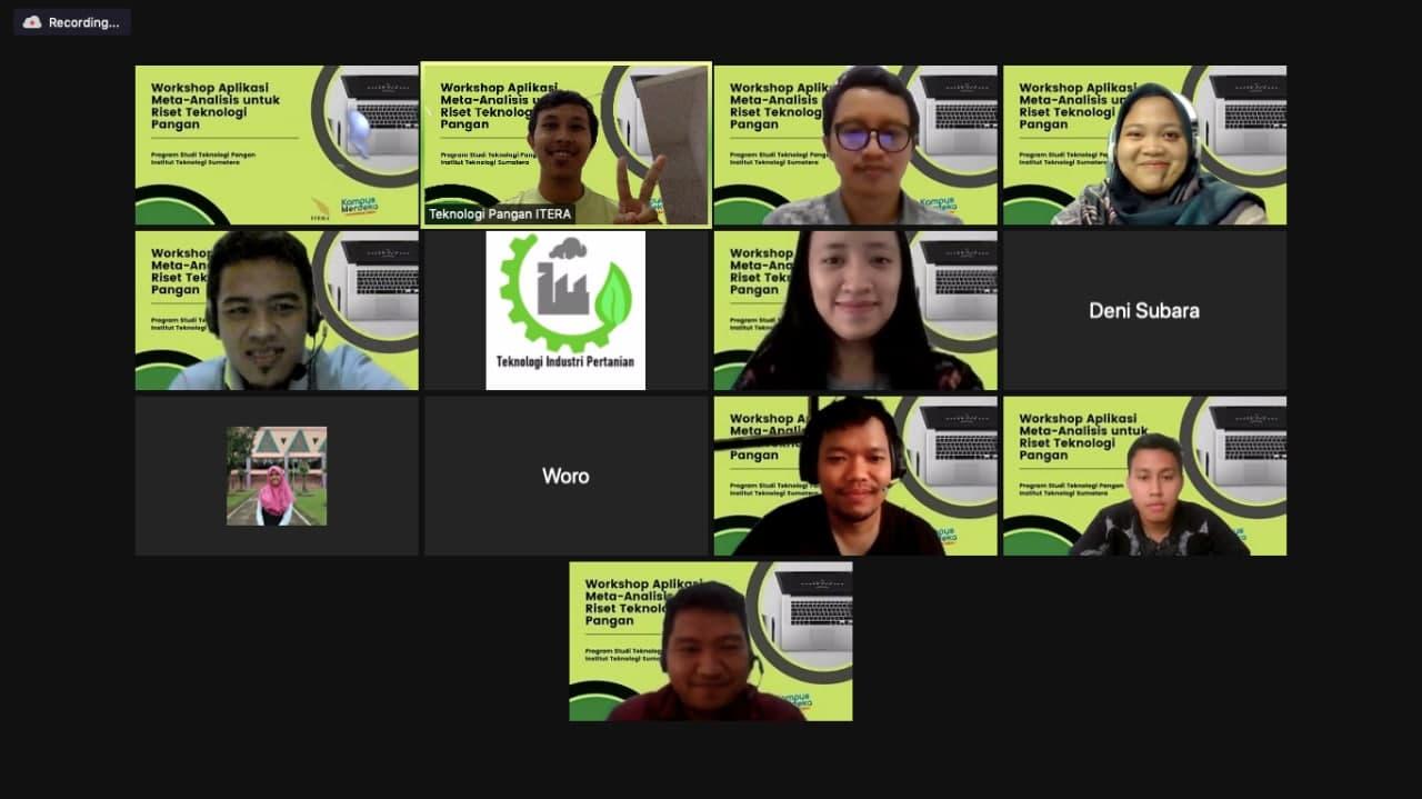 You are currently viewing Program Studi Teknologi Pangan Itera Mengadakan Workshop Aplikasi Meta Analisis untuk Riset Teknologi Pangan