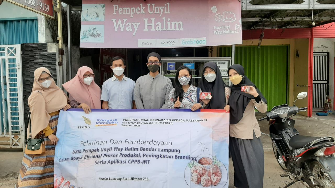 Read more about the article Teknologi Pangan ITERA lakukan pelatihan dan pengabdian pada UKM di Bandar Lampung