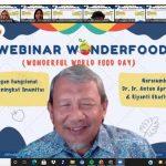 Prodi Teknologi Pangan ITERA adakan webinar pangan fungsional untuk memperingati Hari Pangan Sedunia 2021